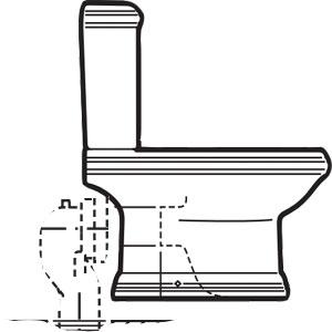 Elegir un inodoro for Inodoro con salida dual