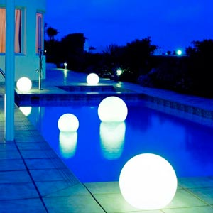 C mo elegir las luces led para la piscina for Luces para piscinas