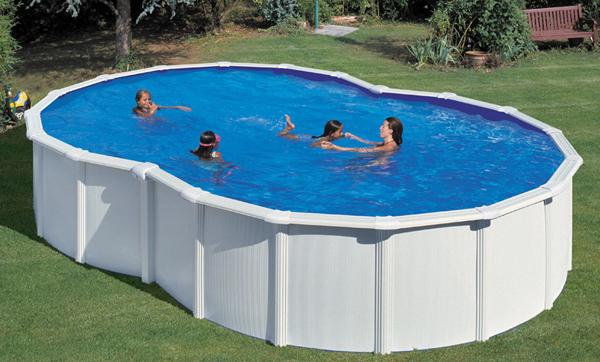 Elegir piscinas desmontables aprende y mejora for Piscina lona rectangular