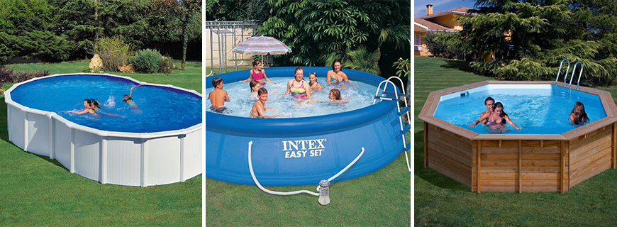 Elegir piscinas desmontables aprende y mejora for Piscinas rectangulares intex