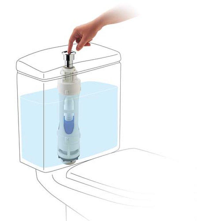 C mo detectar y reparar las aver as del inodoro m s comunes for Como instalar un inodoro con salida vertical