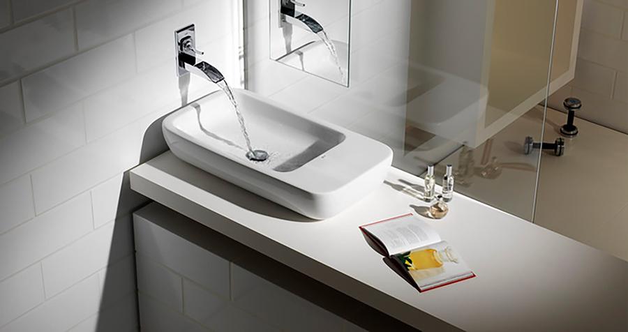 Elegir el lavabo ideal para tu cuarto de ba o - Lavabo de esquina ...