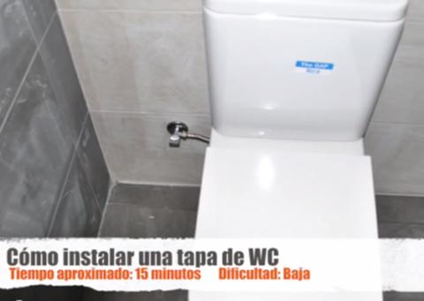 Vídeo Tutorial Cómo Instalar Una Tapa De Inodoro De Roca Aprende Mejora