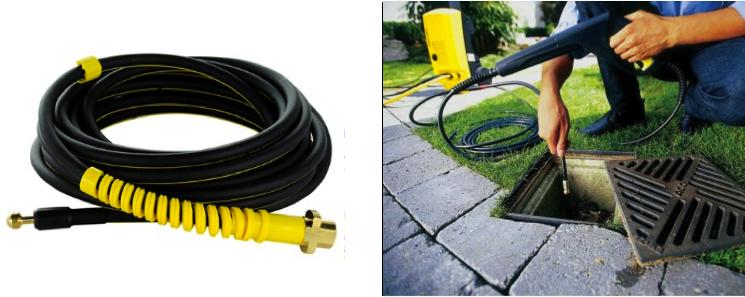 Elegir accesorios para una hidrolimpiadora - Desatascador de tuberias a presion ...