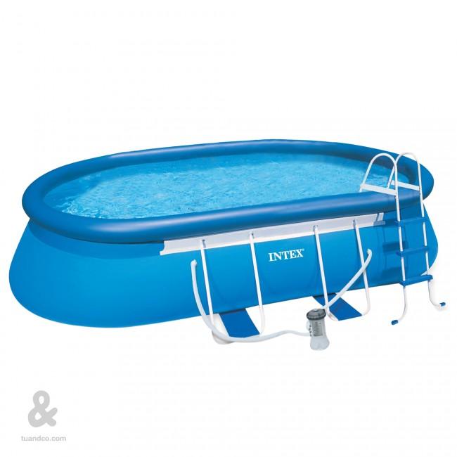 Consejos para instalar una piscina desmontable aprende for Piscina hinchable con depuradora incluida