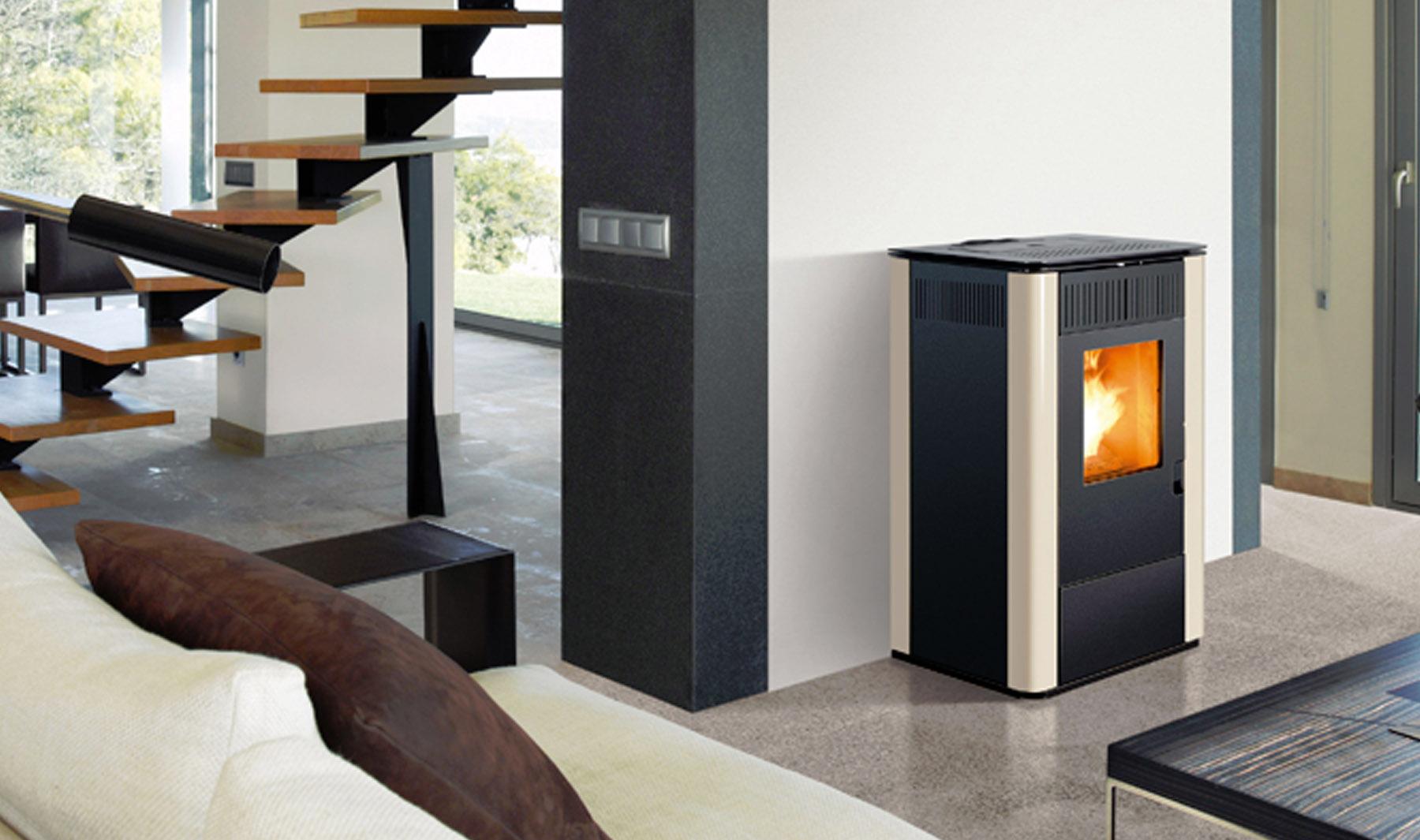 Qu es una caldera de biomasa aprende mejora - Instalar estufa pellets piso ...
