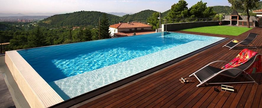 Qu es una piscina desbordante y c mo funciona aprende for Precio para hacer una alberca