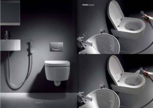 Ducha de bid para inodoro aprende mejora - Inodoro y lavabo en uno ...