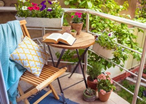Ideas De Decoración Para Balcones Pequeños Aprende Mejora