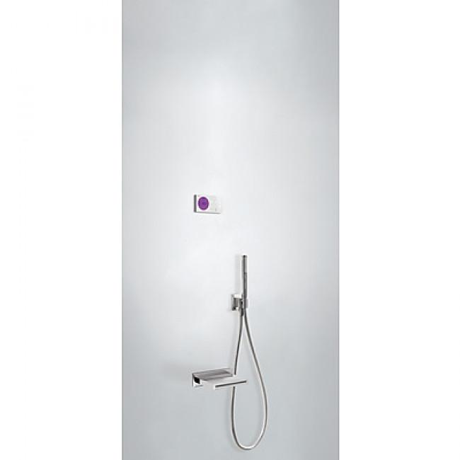 Kit electrónico de bañera empotrado ShowerTechnology Exclusive Tres