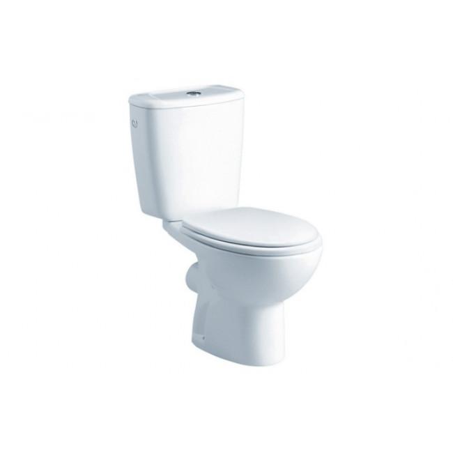 Tanque  Gala Elia pulsador simple blanco Alimentación lateral (no incluye taza ni asiento)