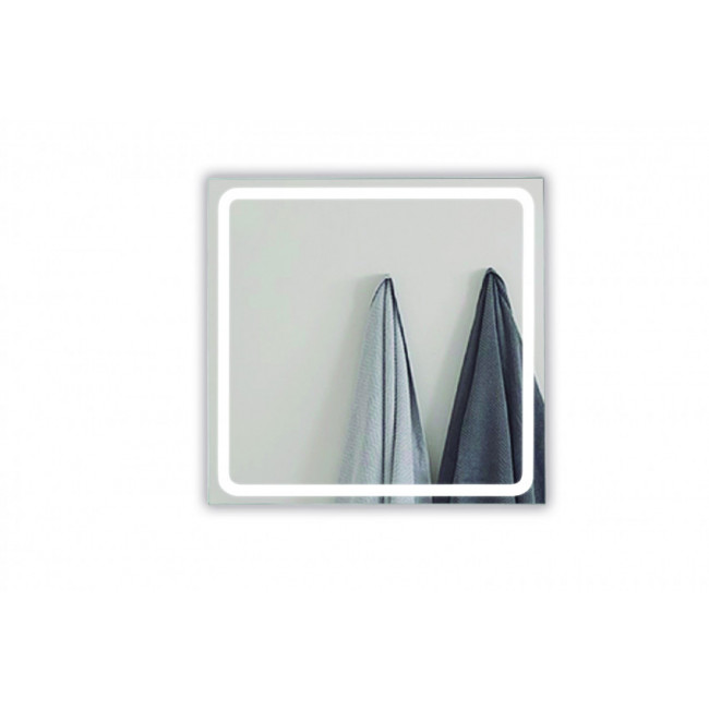 Espejo baño con Luz Led Antivaho 80x80cm Aplike