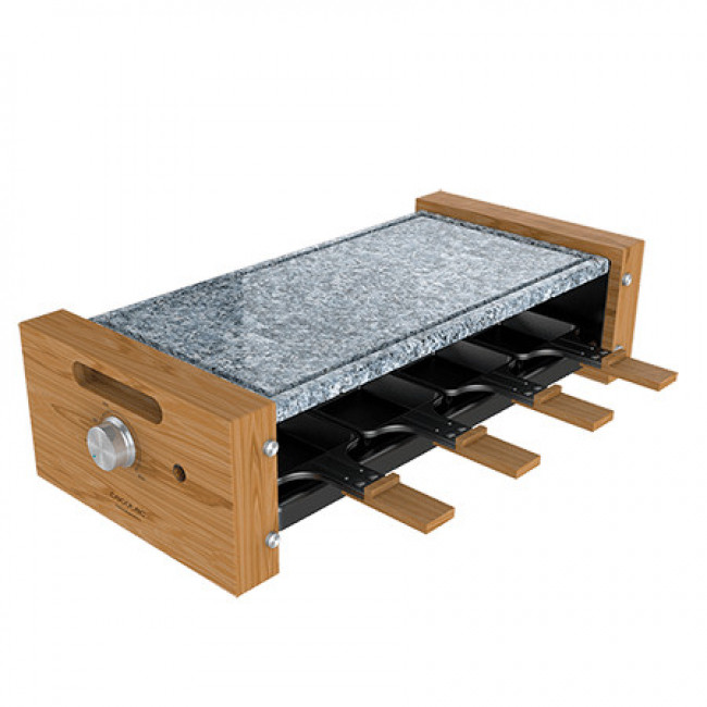Raclette Cheese&Grill 8600 Wood AllStone Cecotec