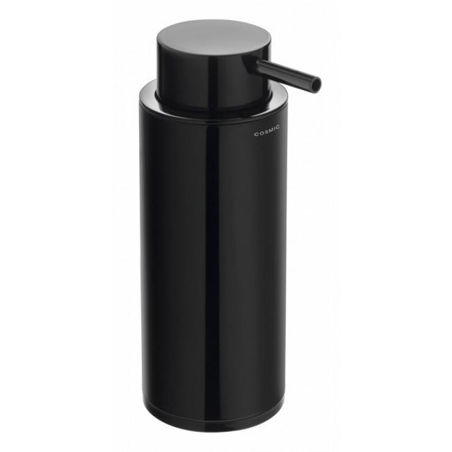 Dosificador de jabón encimera Cosmic black & white negro