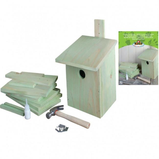 Esschert Design Casa nido DIY 21,3x17x23,3 cm KG52