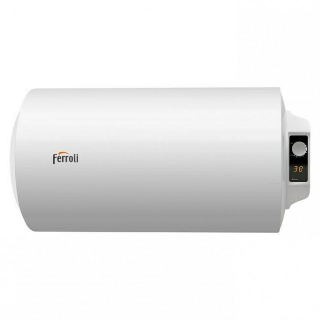 Termo eléctrico horizontal Ferroli Tiber C 80 litros