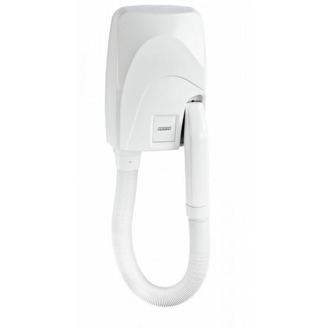 Mediclinics SC0087 secador de cabello automático tipo teléfono policarbonato blanco