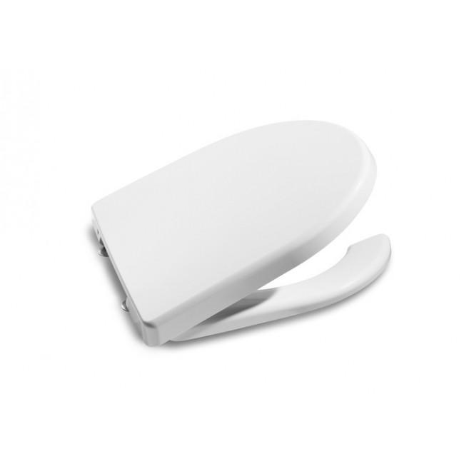 Tapa y asiento con apertura frontal para Inodoro Roca Acces y Meridian movilidad reducida
