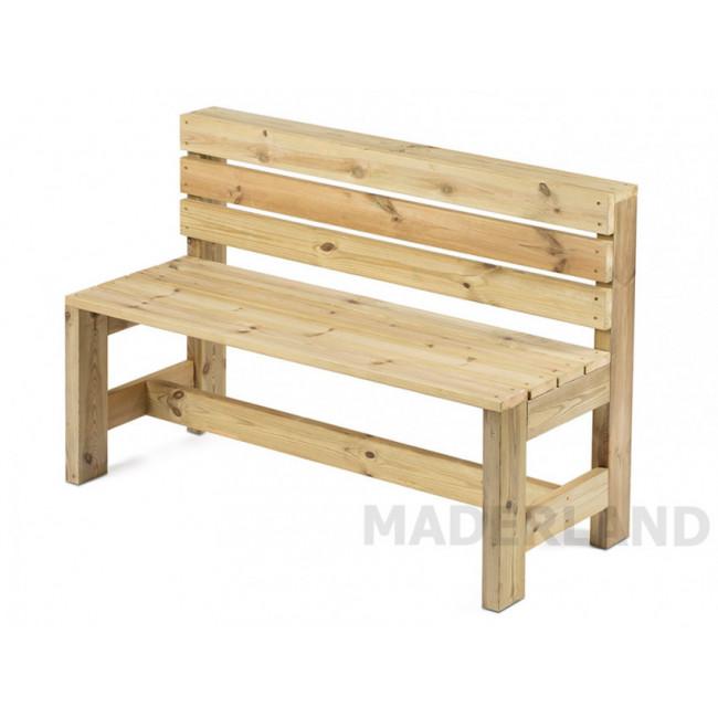 Banco de madera LISBOA 100x49cm