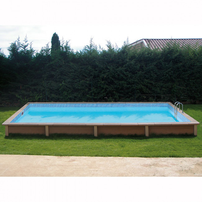 Piscina Naturalis rectangular 750 x 324 x128 cm