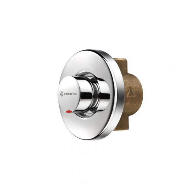 Presto grifo temporizado de empotrar para ducha ARTE-D Agua caliente 55060
