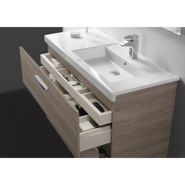 Mueble de ba o roca prisma con cuatro cajones y lavabo - Lavabo prisma roca ...