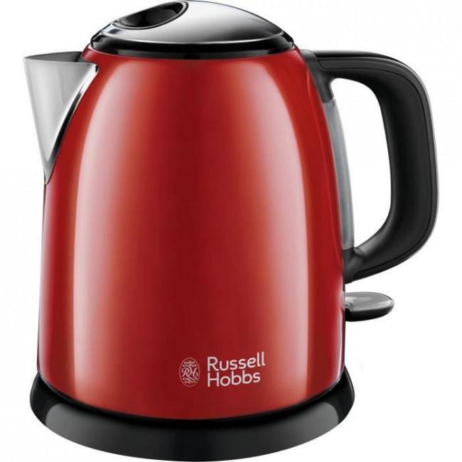 Hervidor de agua compacto 24992-70 Colors Plus 1L Rojo RUSSEL HOBBS