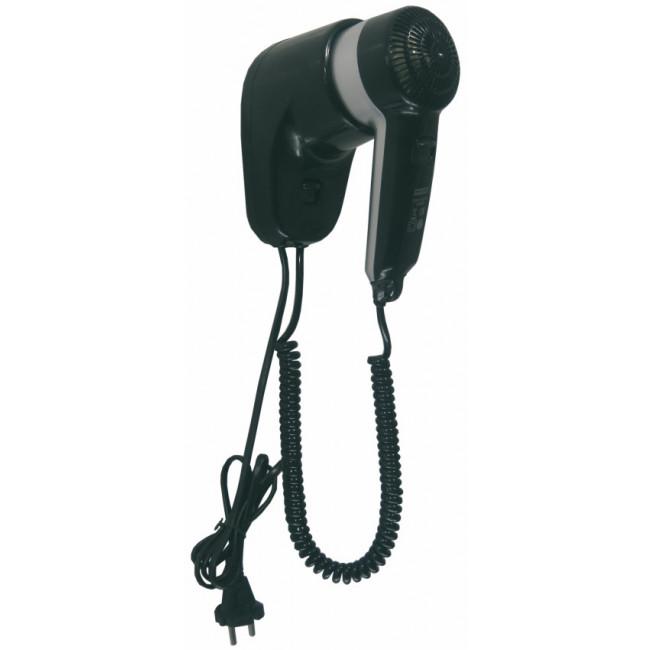 Mediclinics SC0010CS secador de cabello tipo pistola con enchufe, ABS negro