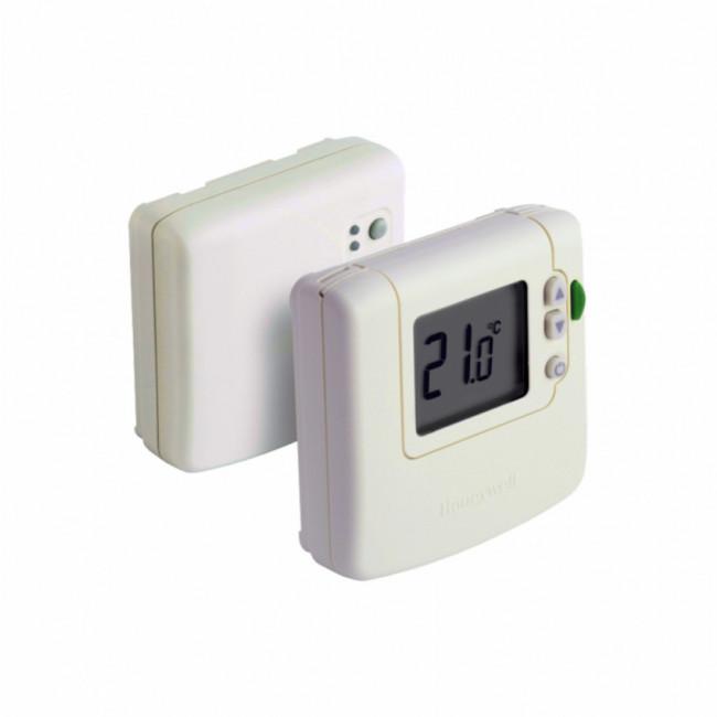Termostato de ambiente digital inal mbrico honeywell dt92a - Termostato digital precio ...