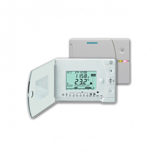 Termostato inal mbrico programable semanal siemens rev24rf set - Termostato siemens rev 24 ...