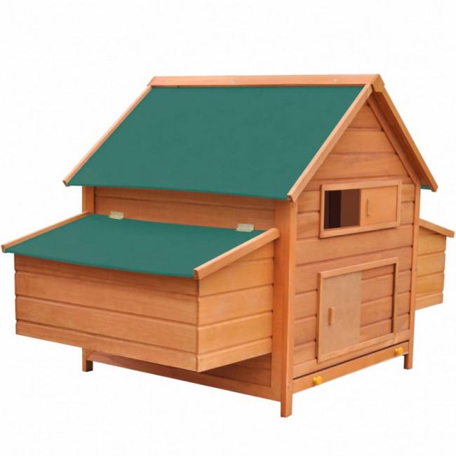 Gallinero de madera 157x97x110 cm