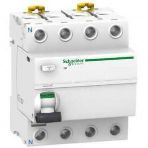 Interruptor diferencial IID 4 polos clase AC Schneider