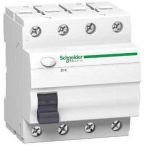 Interruptor diferencial ID K 4 polos Schneider