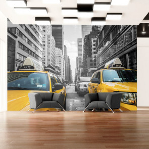 Fotomural - New York taxi