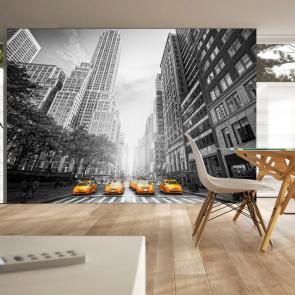 Fotomural - New York - yellow