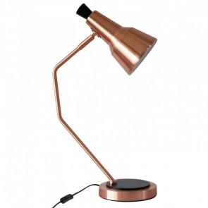 Lámpara de sobremesa 1 foco 1xE14 sherlock cobre Sulion