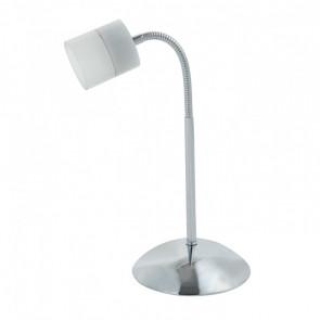 Lámpara de sobremesa LED 5W 1 foco Flash cromo Sulion