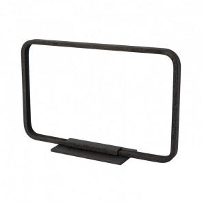 Lámpara de sobremesa LED 7W rectangular Framed negro Sulion