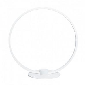 Lámpara de sobremesa LED 7W circular Framed blanco Sulion
