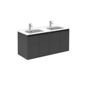 Mueble de baño Royo Sansa 4 puertas Antracita