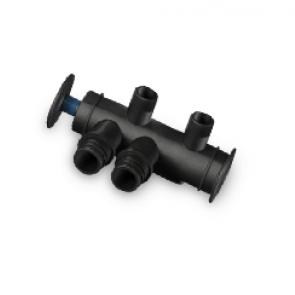 """Kit Bypass 3/4"""" corto para descalcificador Kinetico (accesorio para modelo 206C)"""