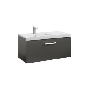 Mueble de baño Roca Prisma 1 Cajón Gris Antracita
