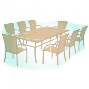 Funda cubre mesa rectangular / ovalada Campingaz - XL (100 x 270 x 220 cm)