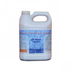 Minorador de pH líquido para electrolisis de sal en botes de 10 litros Astralpool compra mínima 20 litros (precio por litro)
