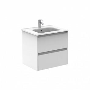 Mueble de baño Royo Sansa 2 cajones Blanco