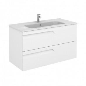 Mueble de baño Royo Vitale 2 cajones 120 Blanco