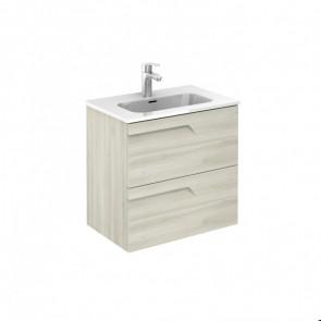 Mueble de baño Royo Vitale 2 cajones Blanco Nature