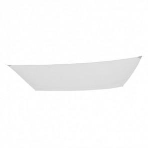 Toldo poliéster rectangular Garden color blanco 400x300cm Aktive