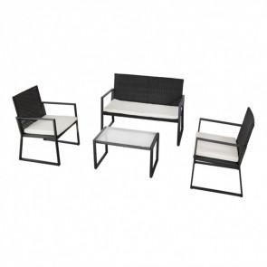 Conjunto muebles ratán para jardín Garden Aktive 61009