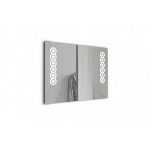 Espejo para el baño Circles 2x6w 5700ºK 800x600 mm
